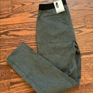 NWT Grey Pull on Dress Pants- Skinny Leg